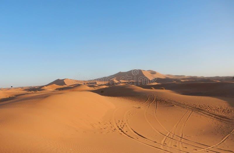 Land des Saharas lizenzfreie stockfotos