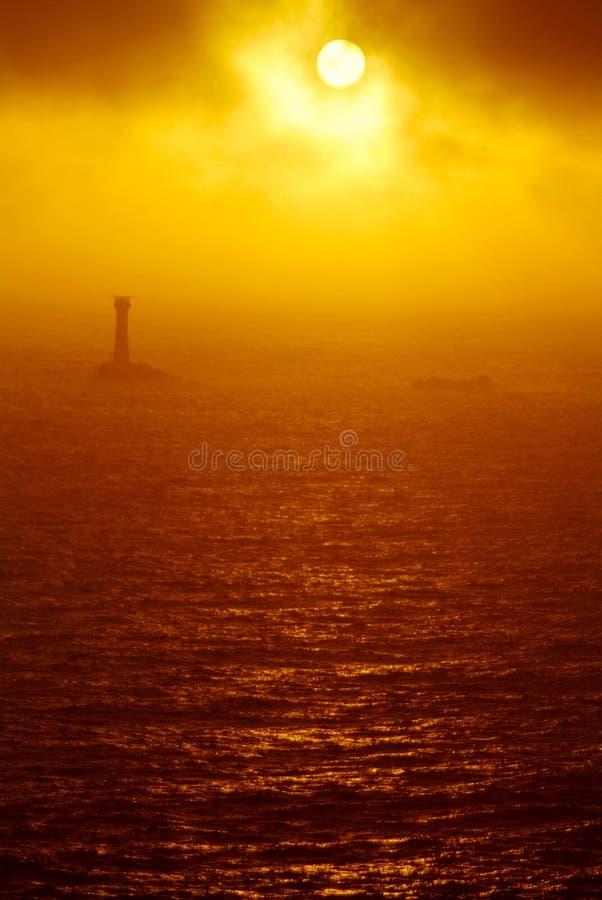 Land-Enden-Leuchtturm stockbild