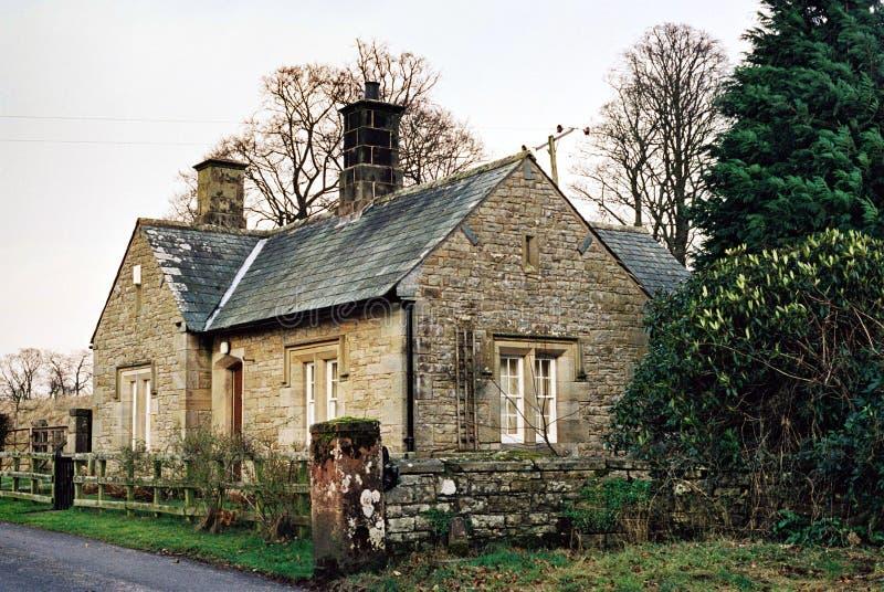 Land-Häuschen stockbild