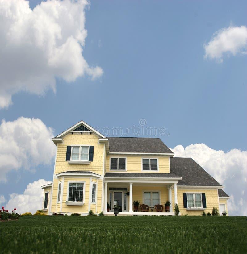 Land-Haus stockbild