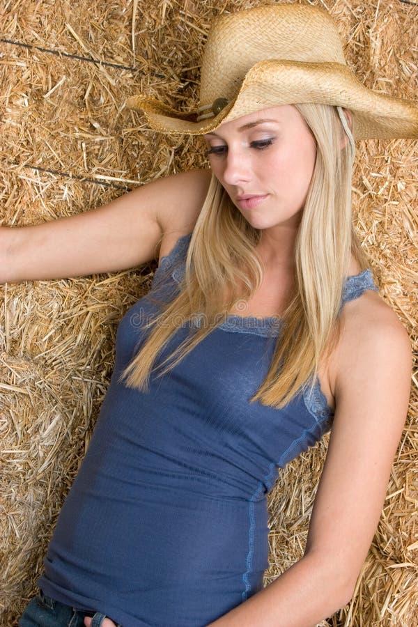 Land-Mädchen lizenzfreies stockfoto