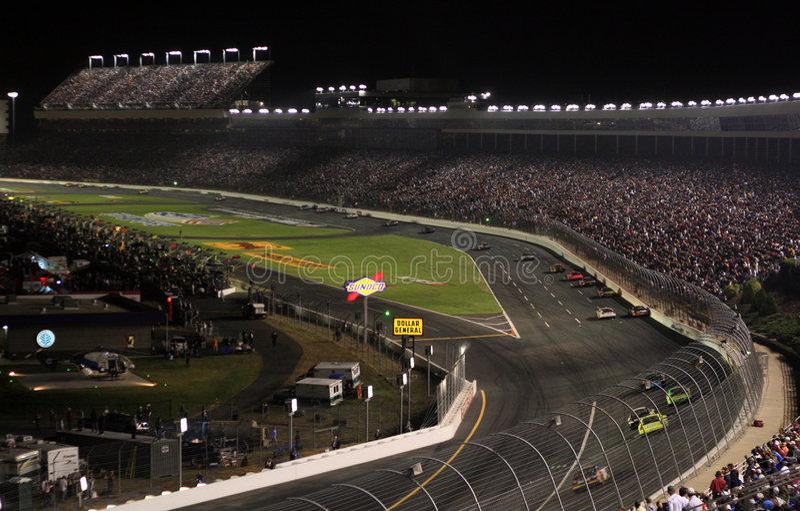 Land NASCAR royalty-vrije stock afbeelding