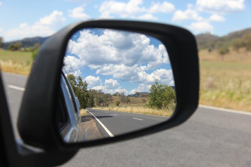 Land New South Wales Australien för vägtur - Bylong dal arkivbilder