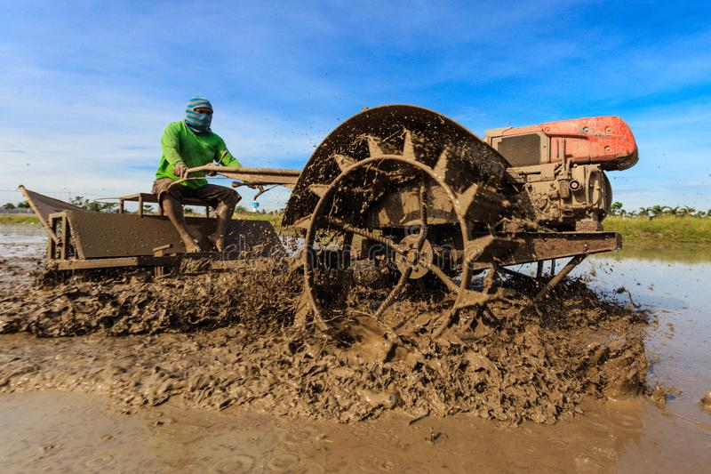 Land preparation stock images