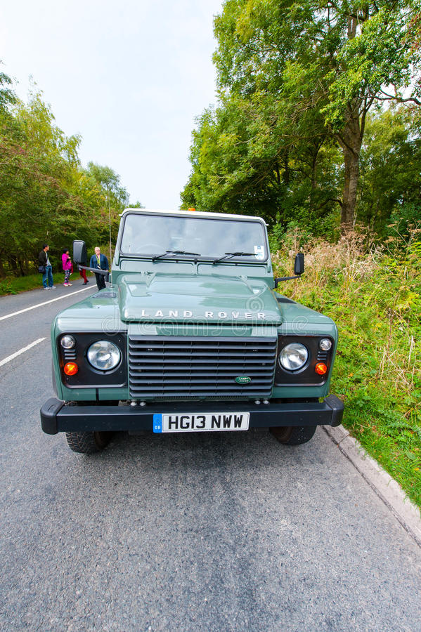 Land Rover Defender royalty free stock image
