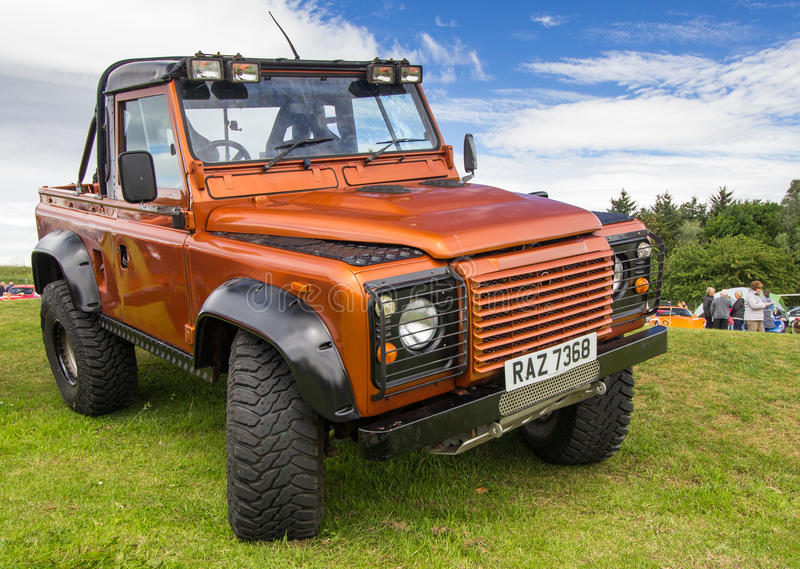 Land Rover Defender royalty free stock photography