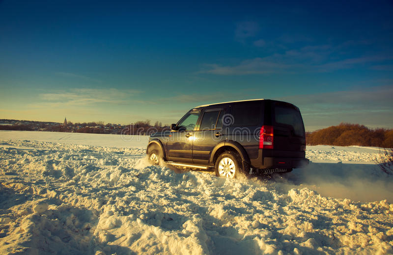 Download Land Rover Discovery stock image. Image of black, adventure - 22704495