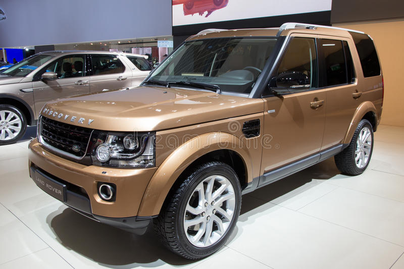 Land Rover Discovery stock afbeelding