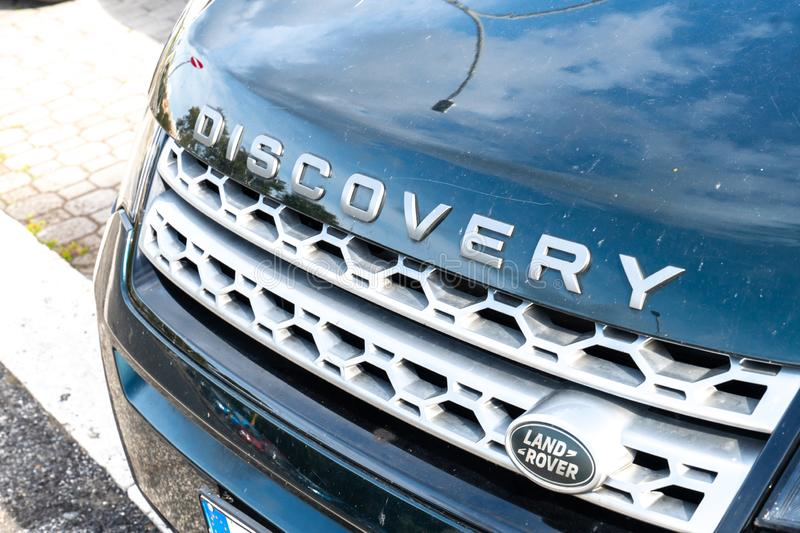 Land Rover Discovery car royalty free stock images