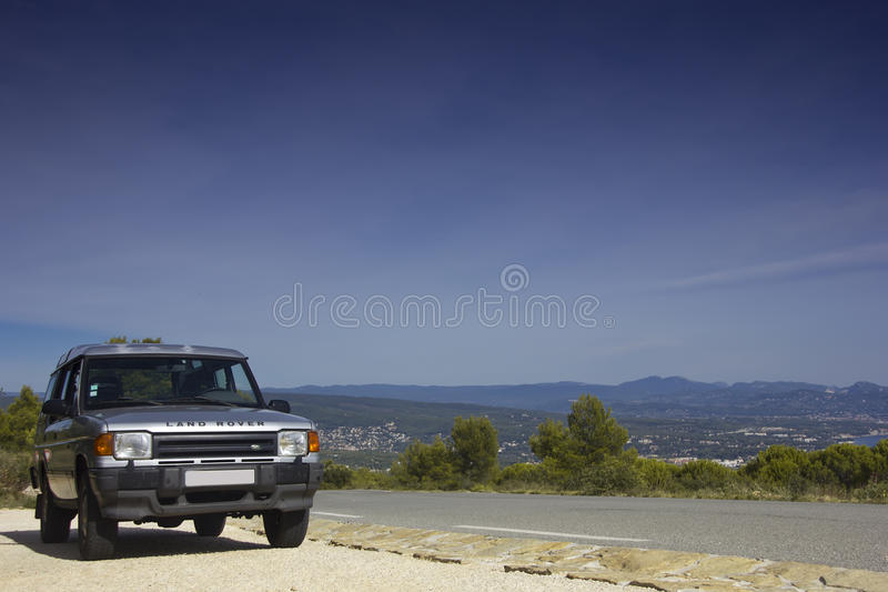 Land Rover Discovery stock photography