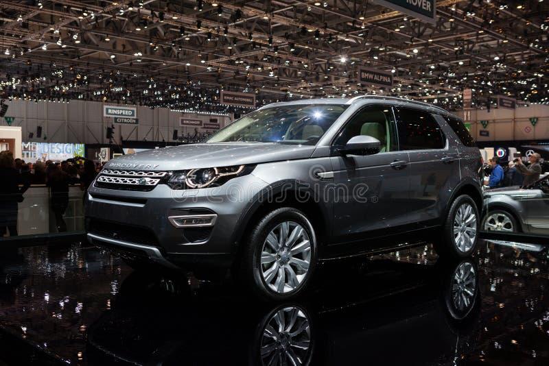 Land Rover Discovery Sport stock photos