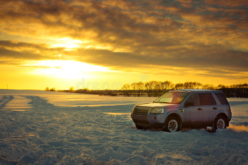 Land Rover Freelander stock image