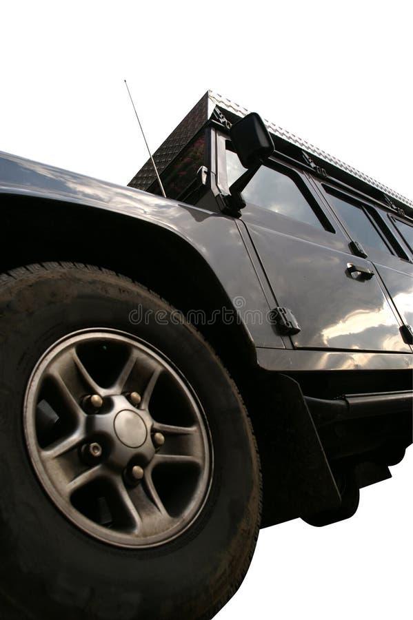 Land rover isolou-se imagem de stock royalty free