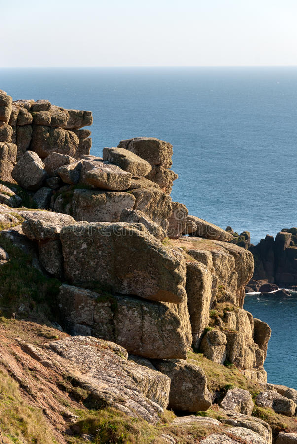 Download Land 's End in Cornwall stock photo. Image of coast, tourism - 24801512