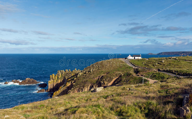 Download Land`s End England UK View Towards Cape Cornwall And Sennen Cove Stock Image - Image of cornwall, attraction: 34570225