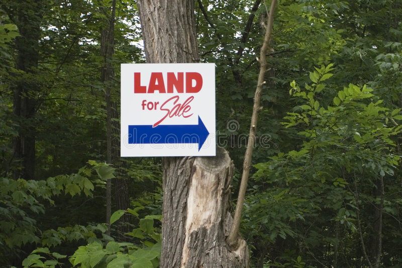 Land For Sale royalty free stock photos