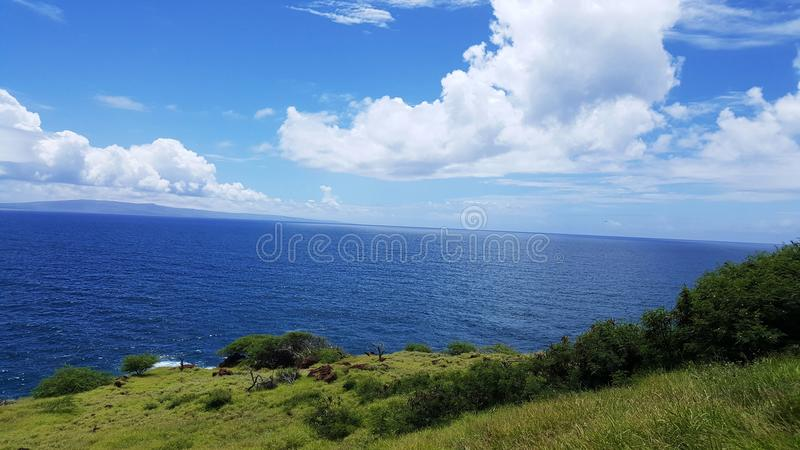 Land and sea royalty free stock images