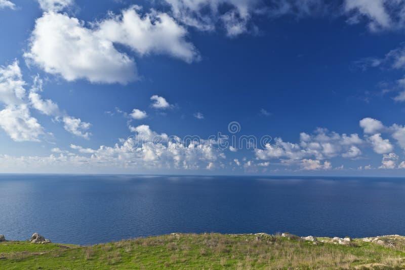 Land Sky And Sea Royalty Free Stock Photo