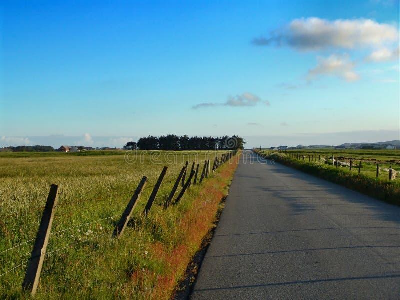 Land-Straße Lizenzfreie Stockbilder