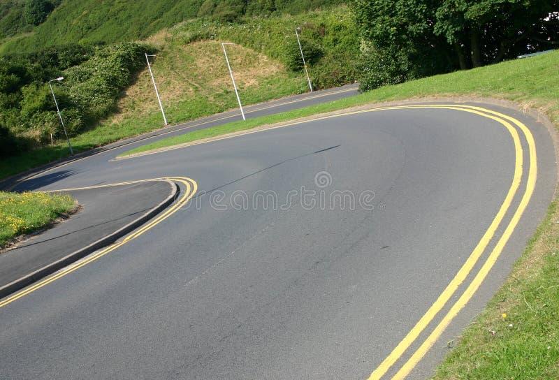 Land-Straße stockfotos