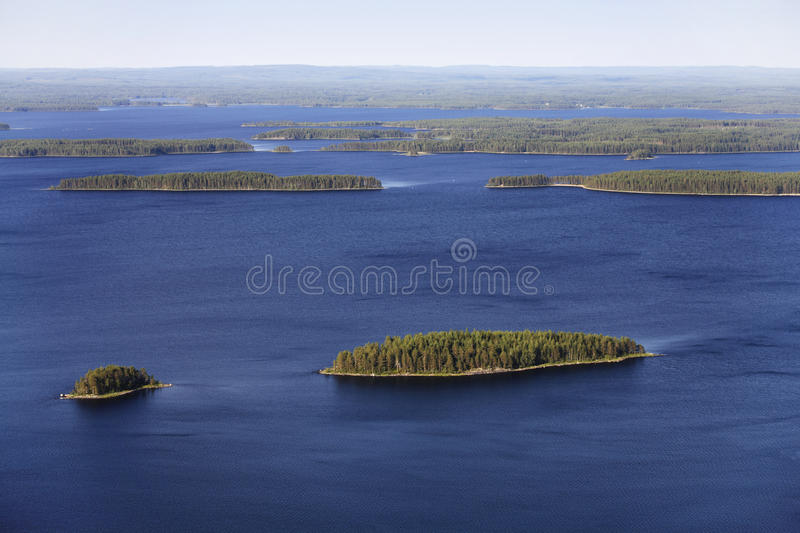 The Land of Thousand Lakes royalty free stock image