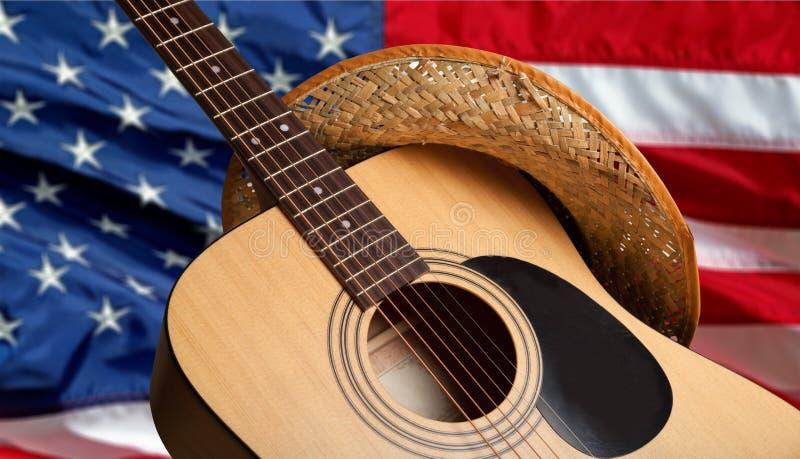 Land und westliche Musik lizenzfreie stockfotos