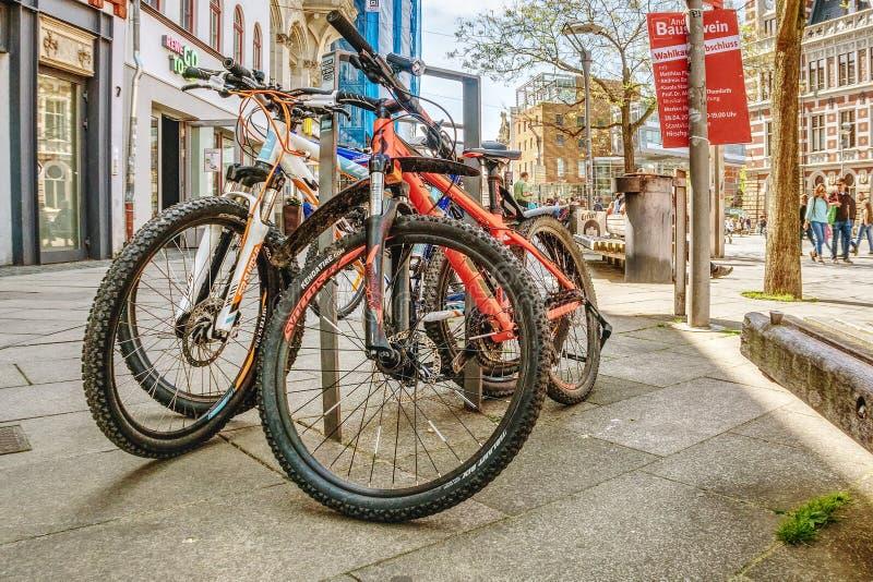 Land Vehicle, Bicycle, Road Bicycle, Mountain Bike stock photo