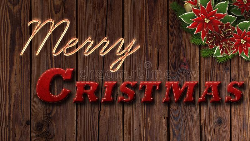 Land-Weihnachtshintergrund lizenzfreies stockfoto