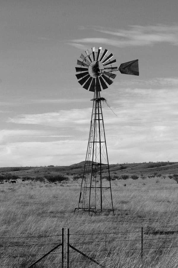Land-Windmühle stockbilder