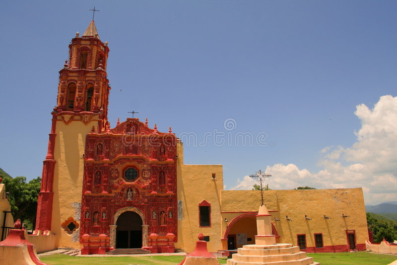 Landa klasztor De Matamoros zdjęcia royalty free