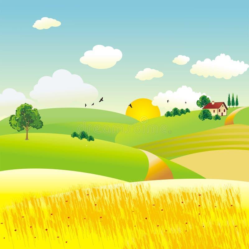 Landbouw vector illustratie