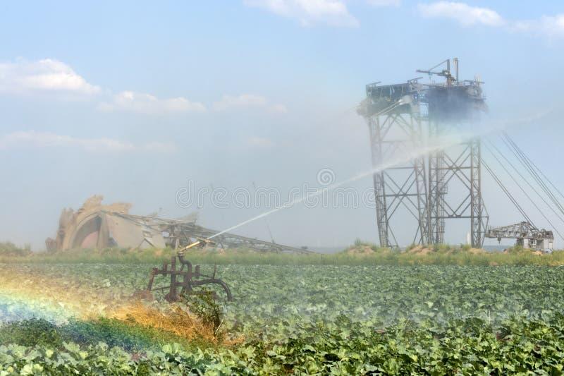 Landbouw en mijnbouw royalty-vrije stock foto's