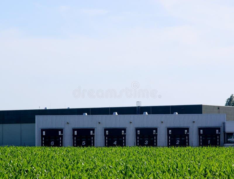 Landbouw ladingsdokken stock fotografie