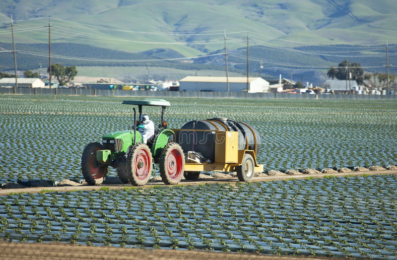 Landbouw Tractor stock afbeelding