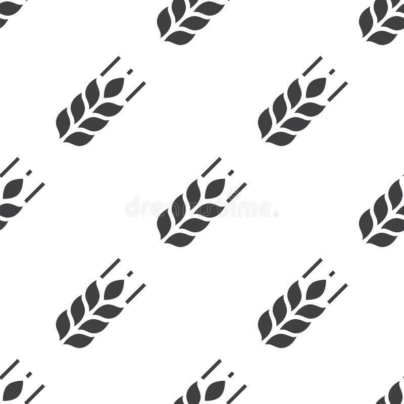 Landbouw, vector naadloos patroon royalty-vrije illustratie