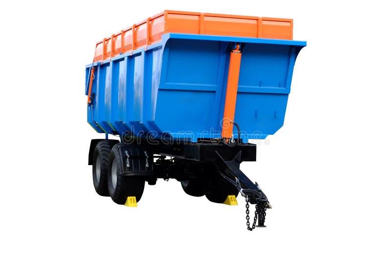 Landbouwaanhangwagen stock afbeeldingen