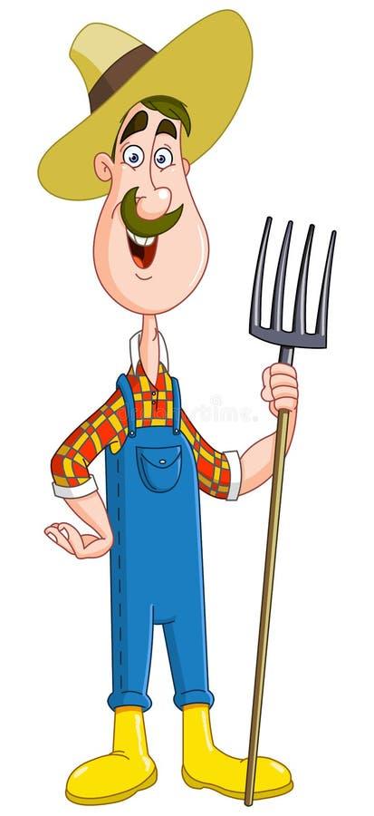 Landbouwer vector illustratie