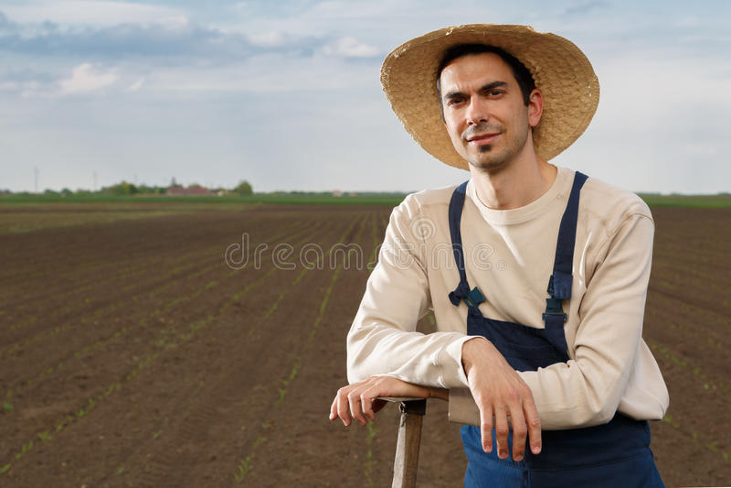 Landbouwer stock afbeelding