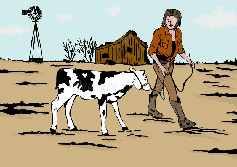 Landbouwer Girl
