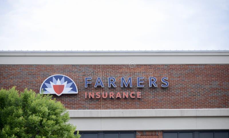 Landbouwer Insurance Agency royalty-vrije stock afbeelding