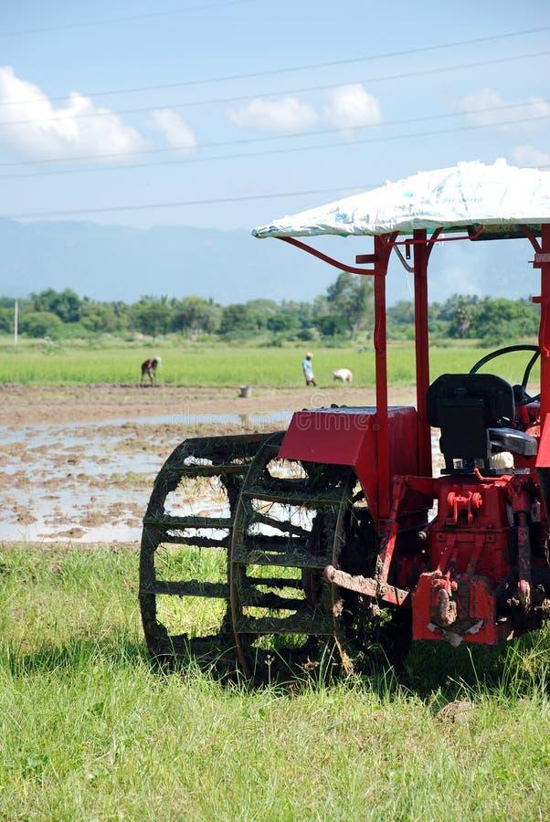Landbouwers stock foto