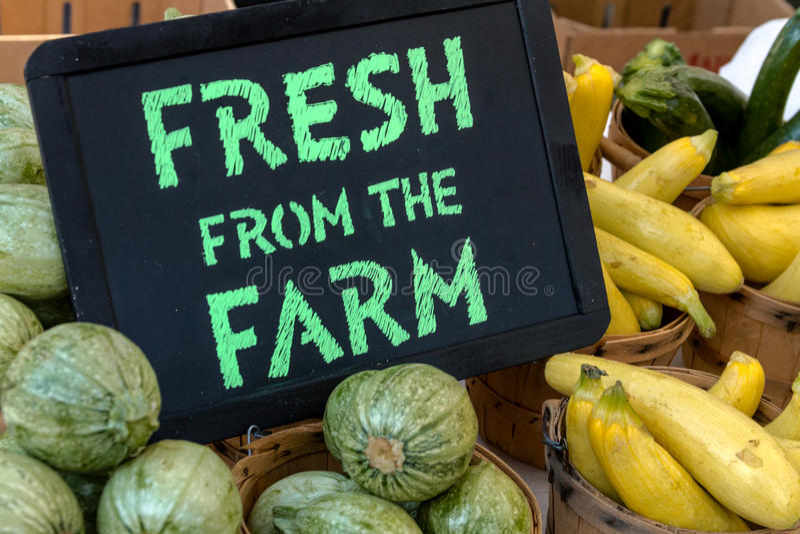 Landbouwersmarkt stock afbeelding