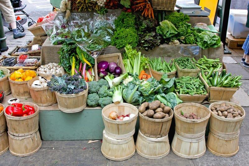 Landbouwersmarkt Londen stock foto