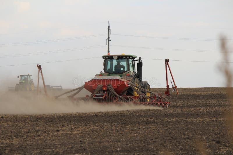 Landbouwindustriezaaimachine royalty-vrije stock fotografie