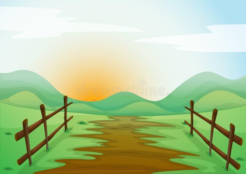 Landcape stock illustrationer