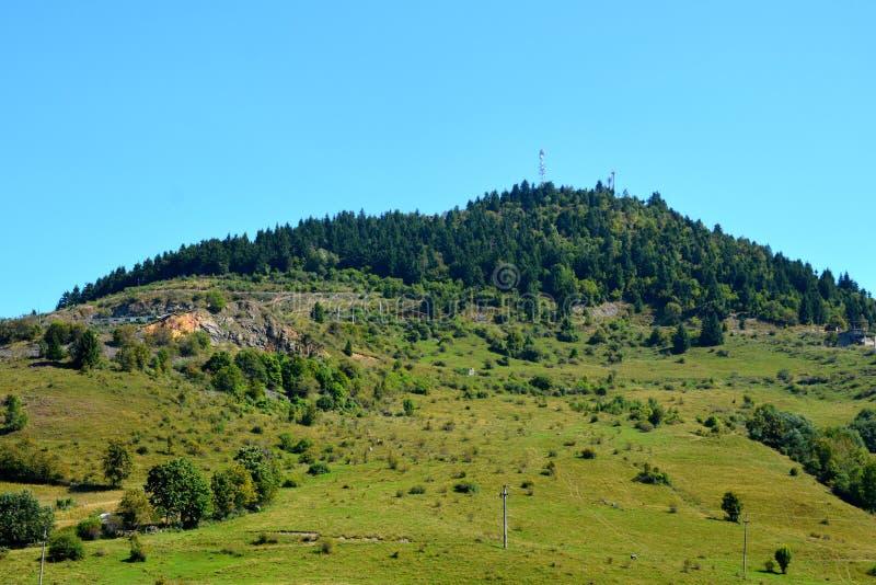 Landcsape在罗希亚蒙塔讷, Apuseni山 免版税库存照片