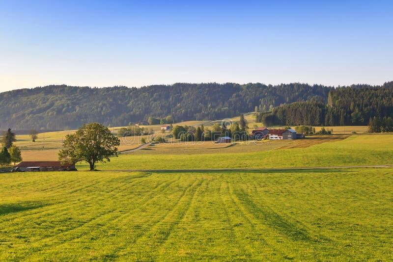 Landelijk dorp in Europa royalty-vrije stock foto