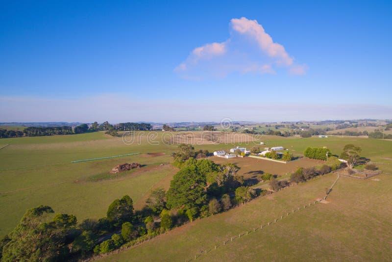 Landelijk huis in Australië stock foto