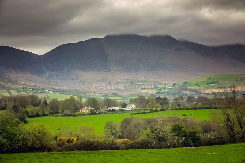 Landelijk Iers platteland royalty-vrije stock afbeeldingen