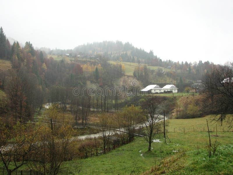 Landelijk landschap. stock foto
